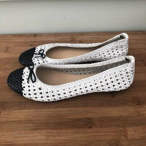 Dragon Diffusion for J Crew Woven Ballet Flats 39